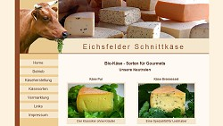Regional Speciality: Cheese from Eichsfeld