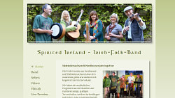 Folkband Spirited Ireland