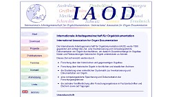 IAOD - International Organisation of Organ Documentation