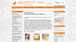 Webshop - Nice Papers